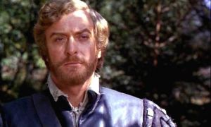 Michael Caine as The Captain in The Last Valley