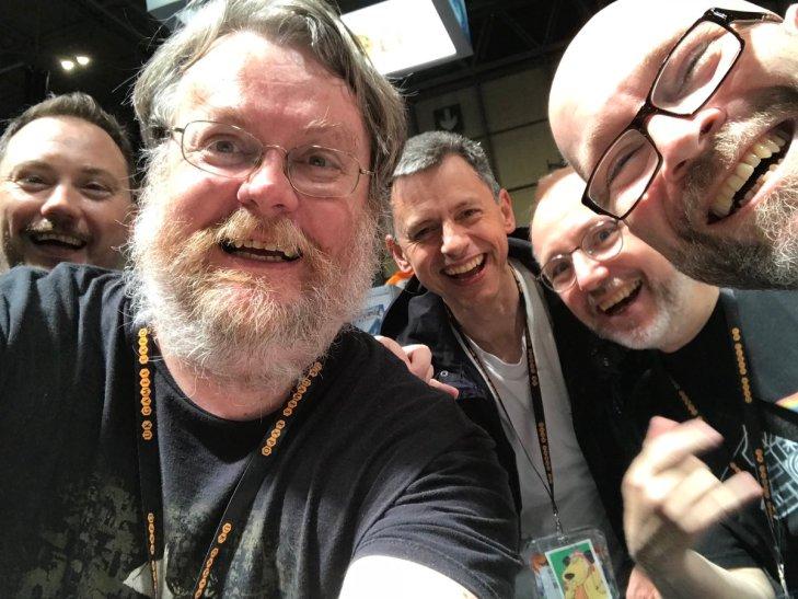 Andrew S, Andrew J, Rick, Steve and Neil