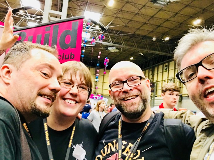 Andrew, Kat, Neil and Matt