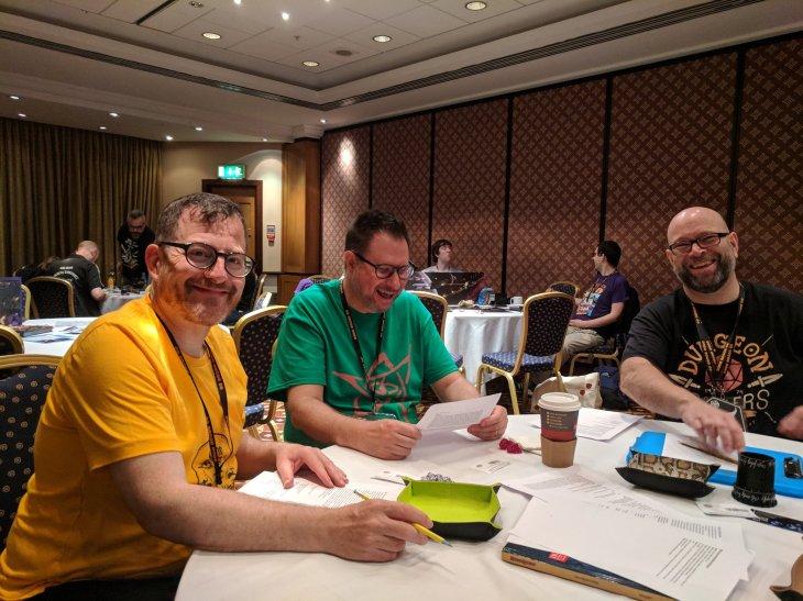Chris, Steven and Neil
